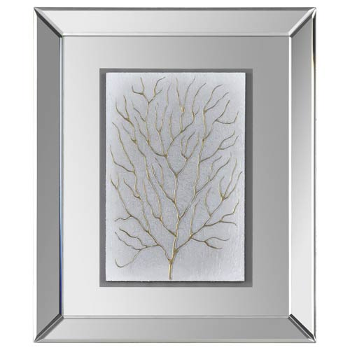 Ren-Wil Branching out I Glass 24-Inch Alternative Wall Decor