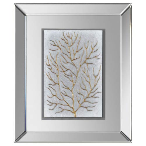 Ren-Wil Branching out II Glass 24-Inch Alternative Wall Decor