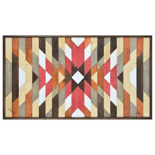 Ren-Wil Here By S. Fontaine: 30 x 53-Inch Wall Décor