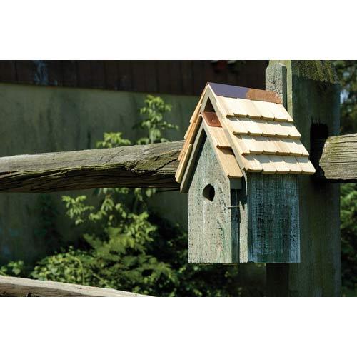 Bluebird Manor Grey Birdhouse