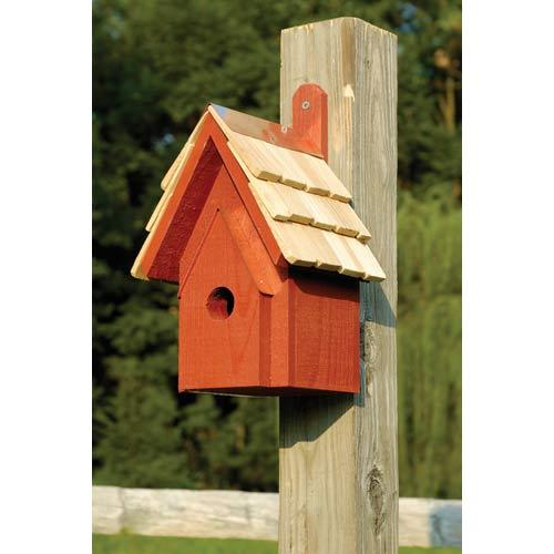 Classic Redwood Birdhouse