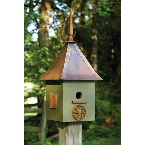 Songbird Suite Dark Olive Birdhouse
