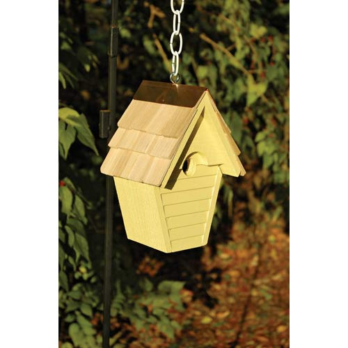 Wren-in-the-wind Goldfinch Birdhouse