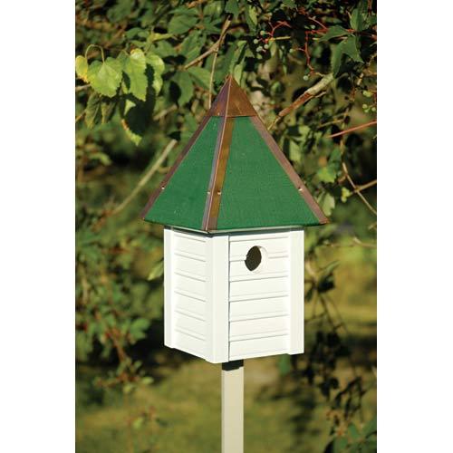 Gatehouse White Birdhouse