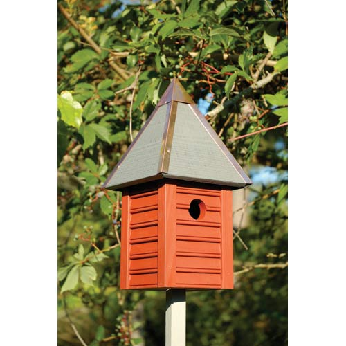 Gatehouse Redwood Birdhouse