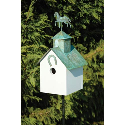 Heartwood Sleepy Hollow Horse Heaven Birdhouse