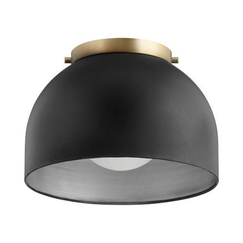 Noir One-Light Flush Mount