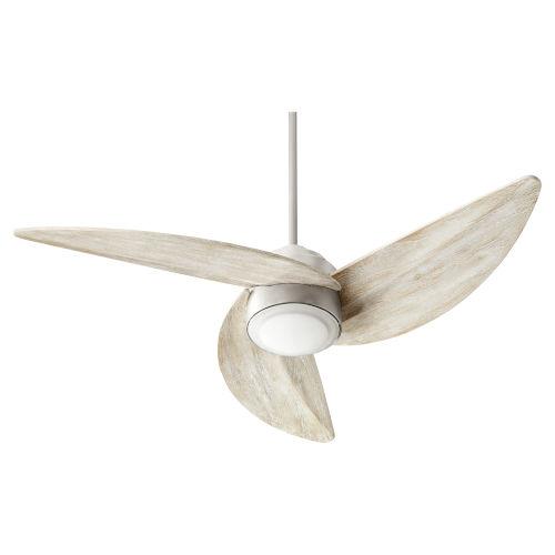 Trinity Satin Nickel LED 52-Inch Ceiling Fan