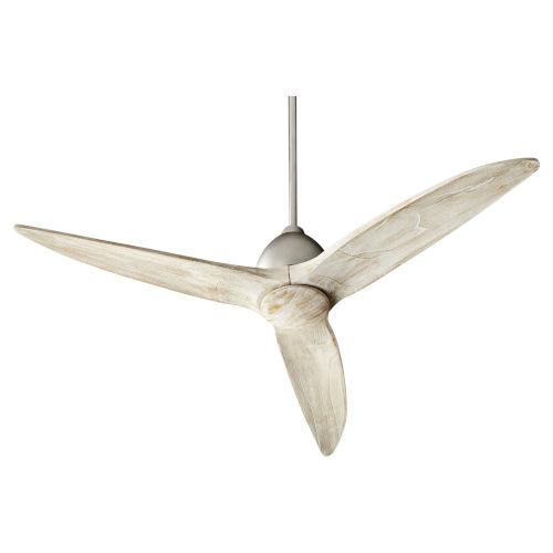 Larkin Satin Nickel 54-Inch Ceiling Fan