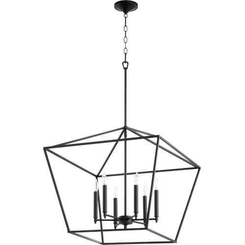 Gabriel Noir Six-Light Pendant