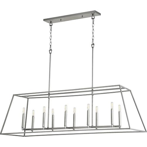 Gabriel Classic Nickel 10-Light Pendant