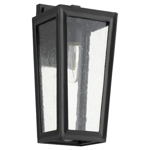 Bravo Noir One-Light 7-Inch Outdoor Wall Mount