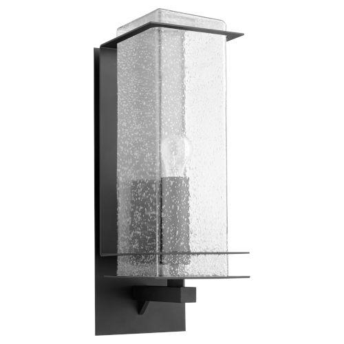 Balboa Black Seven-Inch One-Light Outdoor Wall Mount