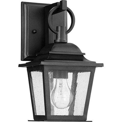Pavilion Black One-Light Outdoor Wall Sconce