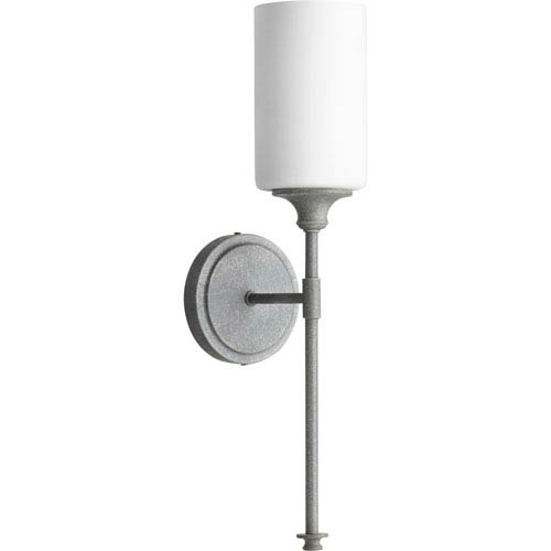 Celeste Zinc One-Light 5-Inch Wall Mount