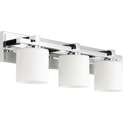 Chrome 24-Inch Three-Light Vanity