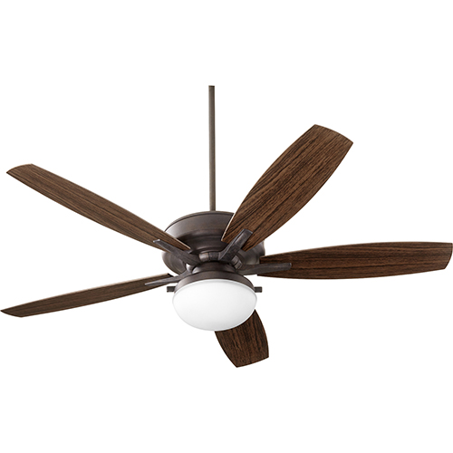 Quorum International Eden Toasted Sienna Two-Light 60-Inch Patio Fan