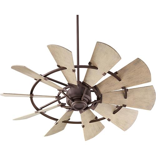 Windmill Oiled Bronze  52-Inch Patio Fan