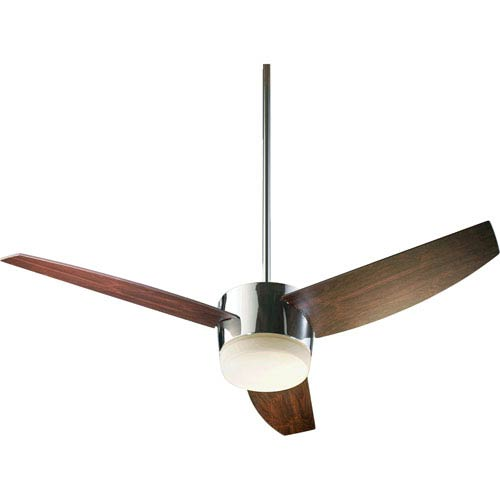 Trimark Two-Light Chrome 54-Inch Ceiling Fan