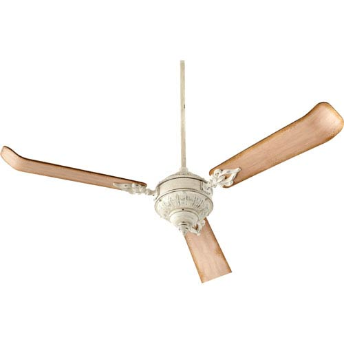Quorum International Brewster Persian White 60-Inch Three Blade Ceiling Fan