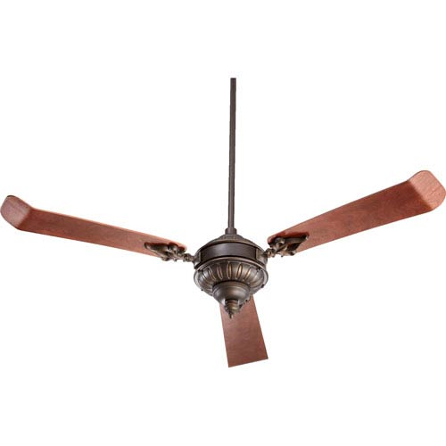 Brewster Oiled Bronze 60-Inch Three Blade Ceiling Fan