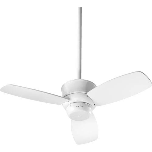 Quorum International Gusto Studio White 32-Inch Three Blade Ceiling Fan