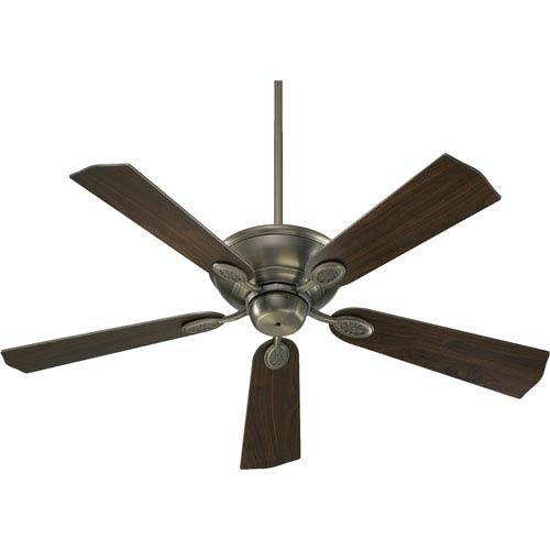 Quorum International Kingsley Antique Silver Energy Star 52-Inch Ceiling Fan