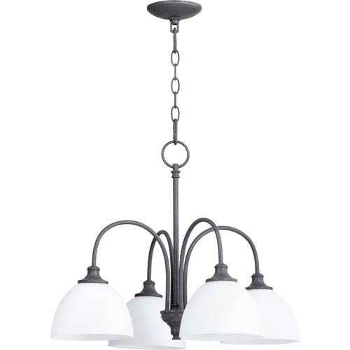 Celeste Zinc Four-Light 22-Inch Chandelier