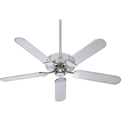 Quorum International Prizzm Chrome 52-Inch Ceiling Fan