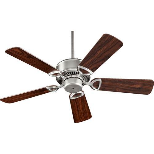 Estate Satin Nickel 42-Inch Ceiling Fan