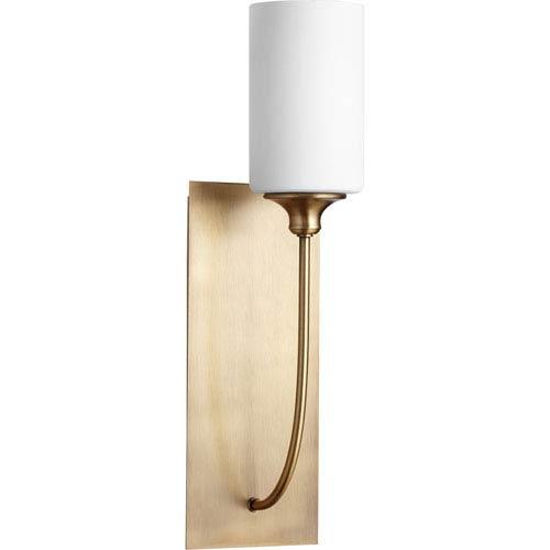 Celeste Aged Brass One-Light Wall Sconce