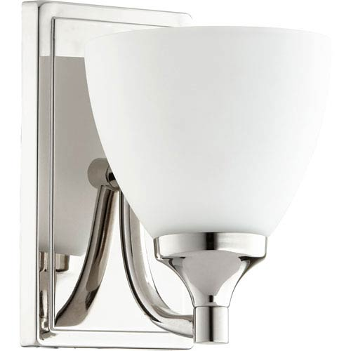 Enclave Polished Nickel One-Light 6-Inch Wall Mount