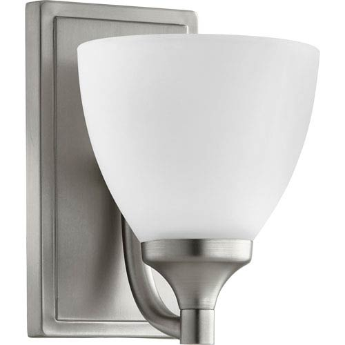 Enclave Satin Nickel One-Light 6-Inch Wall Mount