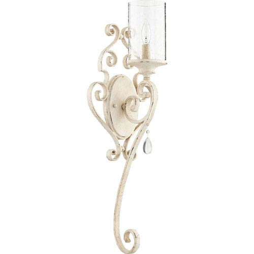 Quorum International San Miguel Persian White One-Light Wall Sconce