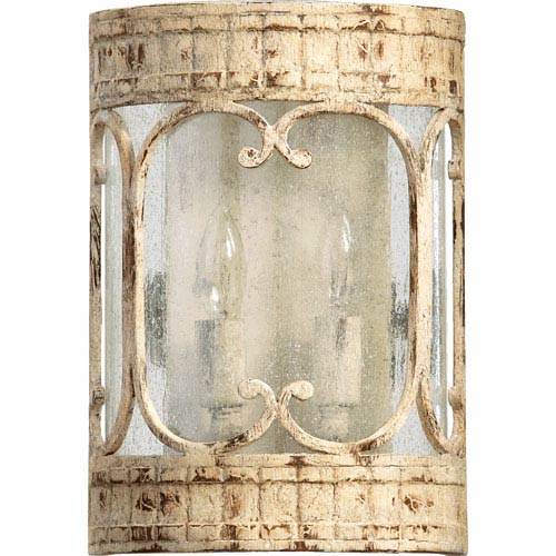 Florence Persian White Two-Light Wall Sconce