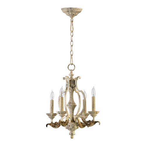 Florence Persian White Four-Light Chandelier