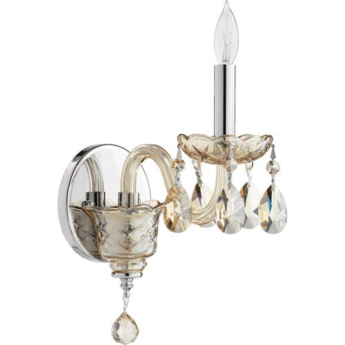 Bohemian Katerina Chrome 5-Inch One-Light Wall Sconce