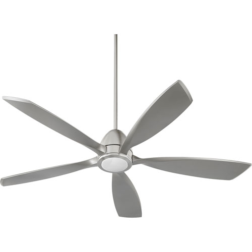Holt Satin Nickel 56-Inch LED Ceiling Fan