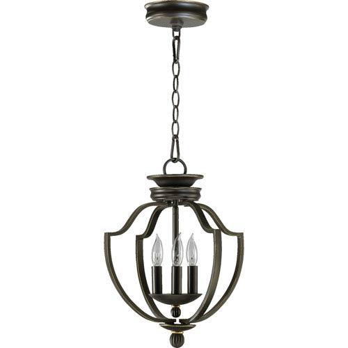 Cole Three-Light Old World Lantern Pendant
