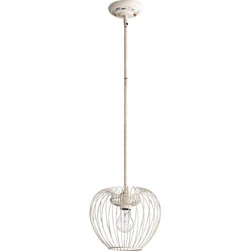 Persian White 11-Inch One Light Birdcage Pendant