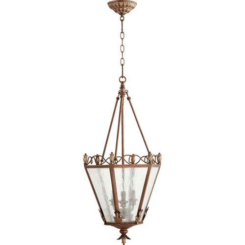 Salento Vintage Copper 15-Inch Three-Light Pendant