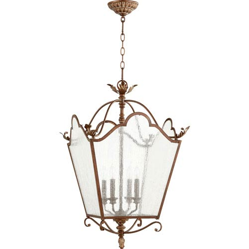 Salento Vintage Copper 18.5-Inch Four-Light Pendant
