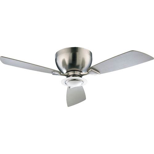 Quorum International Nikko One-Light Satin Nickel 44-Inch Ceiling Fan