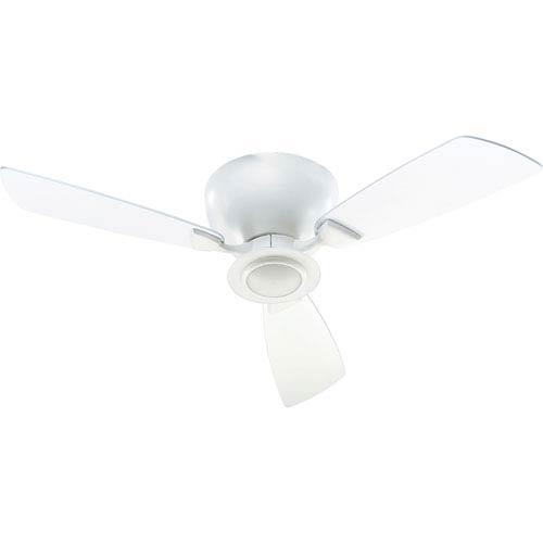 Quorum International Nikko One-Light Studio White 44-Inch Ceiling Fan
