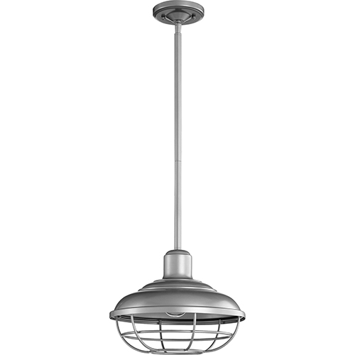 Tansley Graphite One-Light 12-Inch Outdoor Pendant