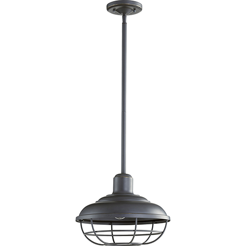Tansley Old World One-Light 12-Inch Outdoor Pendant