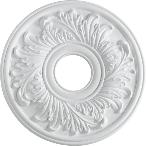Studio White 16-Inch Ceiling Medallion