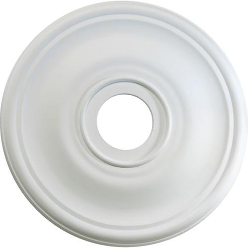 Quorum International Studio White 18-Inch Ceiling Medallion
