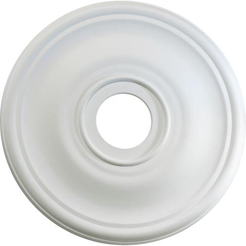 Quorum International Studio White 30-Inch Ceiling Medallion Lighting