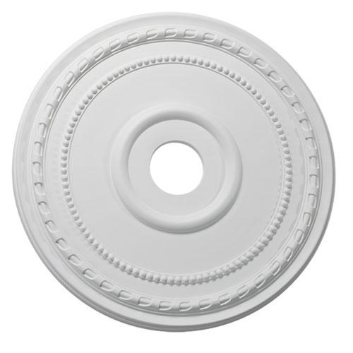 Studio White 24-Inch Ceiling Medallion
